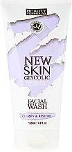 Парфюми, Парфюмерия, козметика Измиващ гел за лице - Beauty Formulas New Skin Glycolic Facial Wash