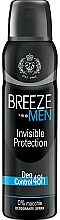 Парфюмерия и Козметика Breeze Deo Invisible Protection - Дезодорант за тяло