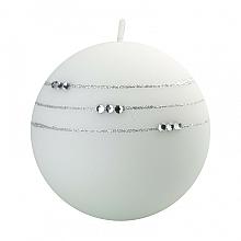 Парфюмерия и Козметика Декоративна свещ, бяла, 10 см - Artman Kolia
