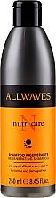 Парфюмерия и Козметика Шампоан за увредена коса - Allwaves Nutri Care Regenerating Shampoo