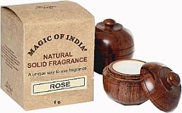 """Парфюми, Парфюмерия, козметика Натурален парфюмен крем с аромат на роза """"Rose"""" - Shamasa"""