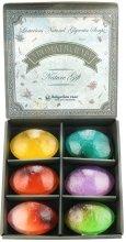 Подаръчен комплект натурални глицеринови сапуни - Bulgarian Rose Aromatherapy Nature Soap — снимка N2