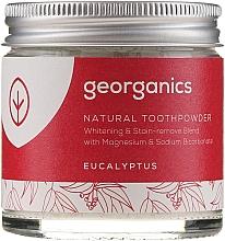 Парфюмерия и Козметика Натурална пудра за зъби - Georganics Eucalyptus Natural Toothpowder