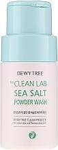 Парфюмерия и Козметика Измиваща пудра за лице с морска сол - Dewytree The Clean Lab Sea Salt Powder Wash