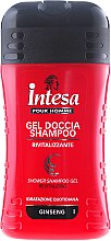 Парфюми, Парфюмерия, козметика Шампоан-душ гел с екстракт от женшен - Intesa Classic Black Shower Shampoo Gel Revitalizing
