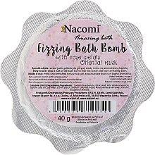 Парфюми, Парфюмерия, козметика Бомбичка за вана с розови листа - Nacomi Rose Petals Bath Bomb