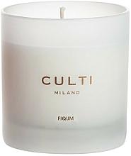 Парфюмерия и Козметика Ароматна свещ - Culti Milano Fiqum Candle