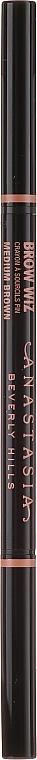 Комплект за вежди - Anastasia Beverly Hills Best Brows Ever Medium Brown (молив/0.08g + гел/2.5ml + гел/2.2g) — снимка N6