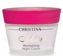Парфюми, Парфюмерия, козметика Нощен регенериращ крем - Christina Muse Revitalizing Night Cream