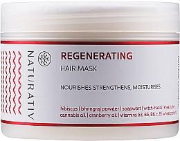 Парфюмерия и Козметика Възстановяваща маска за коса - Naturativ Regeneration Mask