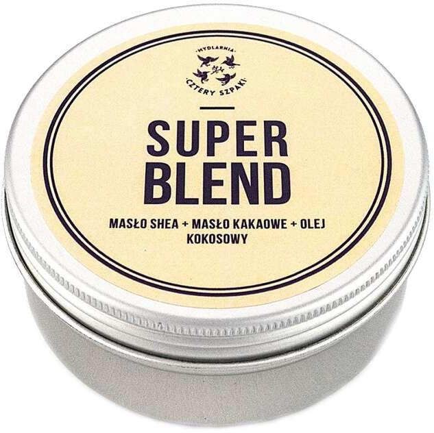 Микс от масла за тяло с ший, каково и кокосово Super Blend - Cztery Szpaki