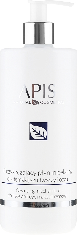 Мицеларна вода - Apis Professional Home TerApis Cleansing Micellar For Face And Eyes