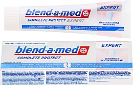 Парфюмерия и Козметика Паста за зъби - Blend-a-med Complete Protect Expert Sensitive & Gentle Whitening Toothpaste
