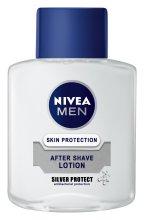 """Парфюми, Парфюмерия, козметика Афтършейв """"Сребърна защита"""" - Nivea For Men Silver Protect After Shave Lotion"""