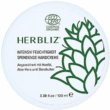 Парфюмерия и Козметика Интензивно овлажняващ крем за ръце - Herbliz
