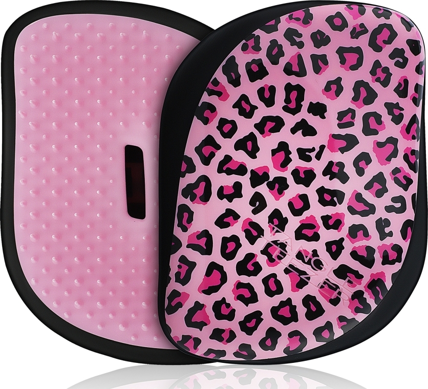 Четка за коса - Tangle Teezer Compact Styler Pink Kitty Mobile Brush
