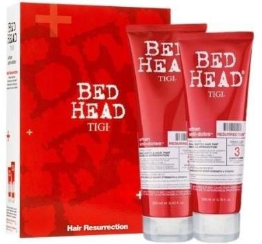 Комплект - Tigi Bed Head Hair Resurrection Set (shm/250ml + cond/200ml) — снимка N1