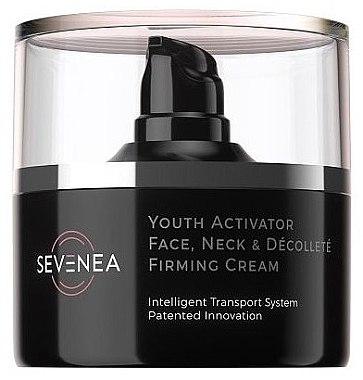 Крем активатор за лице - Sevenea Youth Activator Face, Neck & Decollete Firming Cream — снимка N1