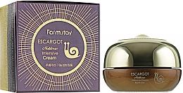 Парфюмерия и Козметика Околоочен крем със секрет от охлюв - FarmStay Escargot Noblesse Intensive Eye Cream