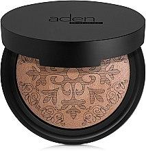Парфюми, Парфюмерия, козметика Бронзираща пудра - Aden Cosmetics Glowing Bronzing Powder