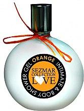 "Парфюми, Парфюмерия, козметика Душ гел и интимен гел 2в1 ""Портокал"" - Hristina Cosmetics Sezmar Love Orange Intimate & Body Shower Gel"