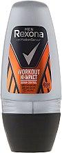 Парфюмерия и Козметика Рол-он дезодорант - Rexona Men Motionsense Workout Hi-impact 48h Anti-perspirant