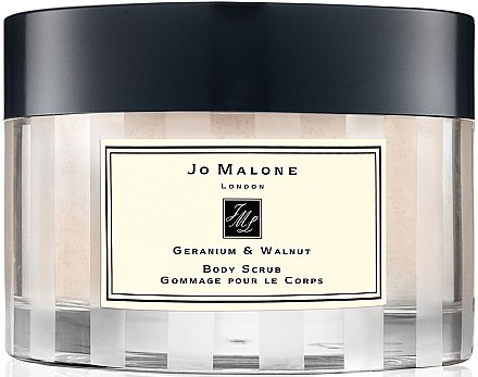 Скраб за тяло - Jo Malone Geranium And Walnut Body Scrub — снимка N1