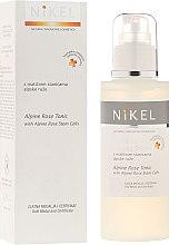 Парфюмерия и Козметика Тоник за лице със стволови клетки и алпийска роза - Nikel Alpine Rose Tonic