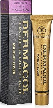 Крем фон дьо тен с подобрени свойства - Dermacol Make-Up Cover