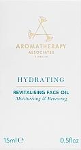 Овлажняващо и възстановяващо масло за лице - Aromatherapy Associates Hydrating Revitalising Face Oil — снимка N3