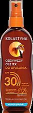 Парфюми, Парфюмерия, козметика Водоустойчиво масло-спрей за тен SPF30 - Kolastyna