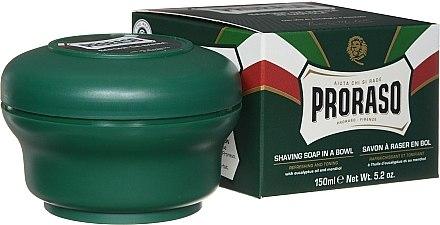 Сапун за бръснене с ментол и евкалипт - Proraso Green Shaving Soap