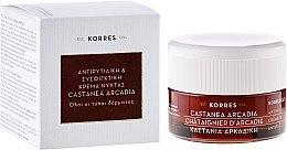 Парфюми, Парфюмерия, козметика Нощен крем против бръчки с кестен - Korres Castanea Arcadia Antiwrinkle & Firming Night Cream for All Skin Types