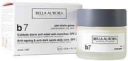 Парфюми, Парфюмерия, козметика Крем против петна за комбинирана и мазна кожа - Bella Aurora B7 Combination/Oily Skin Daily Anti-Dark Spot Care