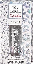 Парфюмерия и Козметика Naomi Campbell Cat Deluxe Silver - Тоалетна вода (мини)