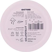 Соли за вана с аромат на грейпфрут - Oh!Tomi Dreams Grapefruit Bath Salts — снимка N3