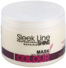 Парфюми, Парфюмерия, козметика Възстановяваща маска за боядисана коса - Stapiz Sleek Line Colour Mask