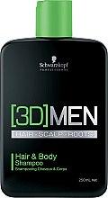 Парфюми, Парфюмерия, козметика Шампоан за коса и тяло - Schwarzkopf Professional 3D Mension Hair & Body Shampoo