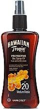 Парфюмерия и Козметика Сухо масло за тен - Hawaiian Tropic Protective Dry Oil SPF20
