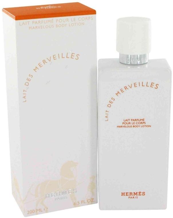 Hermes Eau des Merveilles - Мляко за тяло — снимка N1