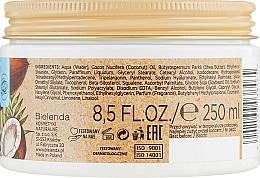 Хидратиращо масло за тяло - Bielenda Coconut Oil Moisturizing Body Butter — снимка N3