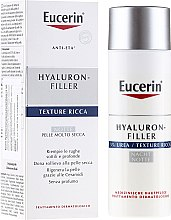 Парфюми, Парфюмерия, козметика Овлажняващ нощен крем - Eucerin Hyal-Urea Night Creme