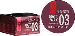 Парфюмерия и Козметика Матов восък за коса - Salerm Matt Wax