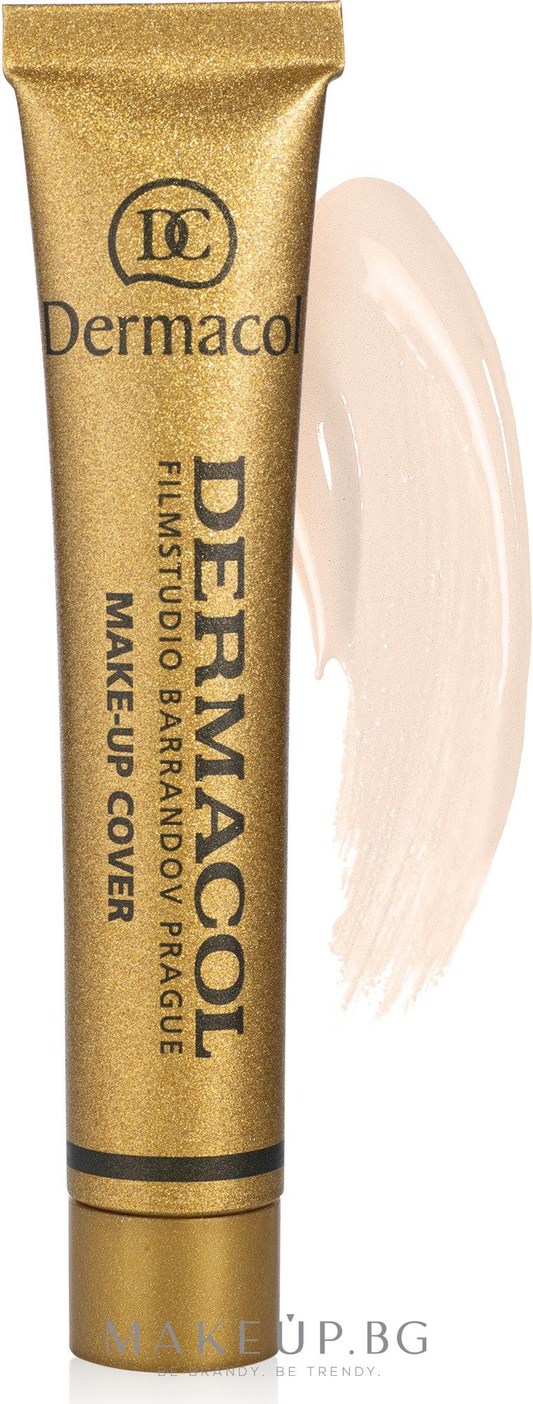 Крем фон дьо тен с подобрени свойства - Dermacol Make-Up Cover — снимка 208
