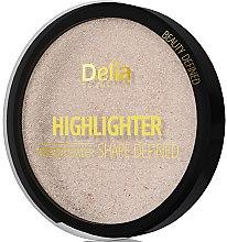 Парфюмерия и Козметика Хайлайтър - Delia Highliter Shape Defined Pressed Powder
