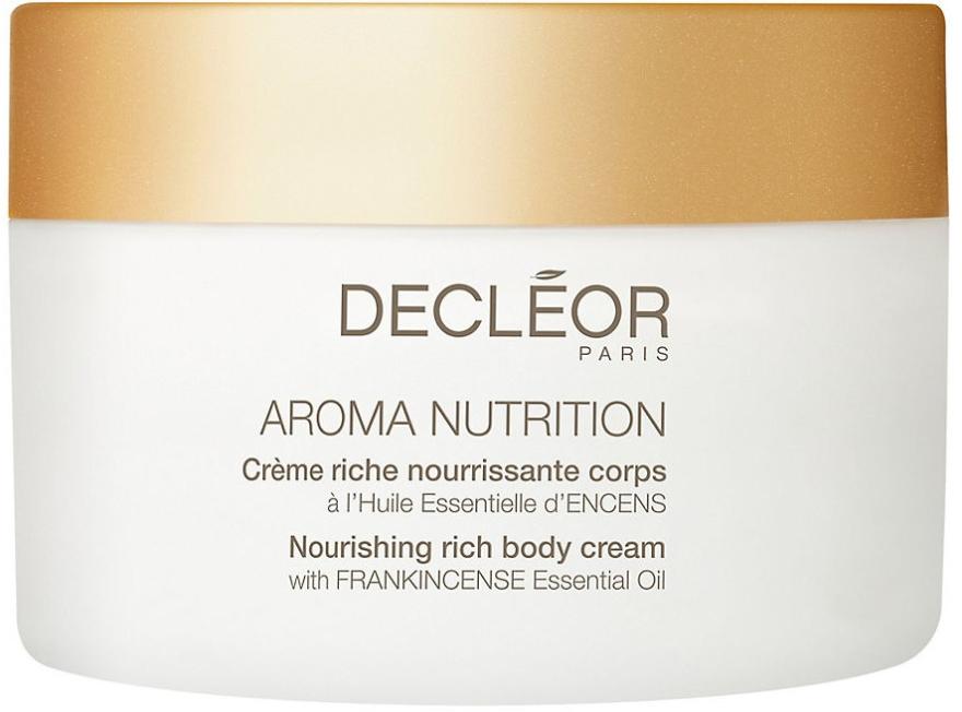 Подхранващ крем за тяло - Decleor Aroma Nutrition Nutrition Riche body Cream — снимка N1