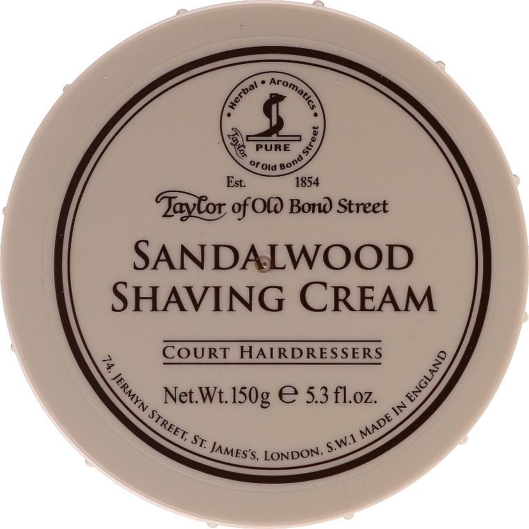 Крем за бръснене с аромат на сандалово дърво - Taylor of Old Bond Street Sandalwood Shaving Cream Bowl