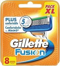 Парфюми, Парфюмерия, козметика Сменяеми ножчета - Gillette Fusion Comfortabeler vs. Mach3