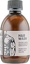 Парфюмерия и Козметика Възстановяващ шампоа-душ гел за мъже - Nook Dear Beard Hair Body Wash