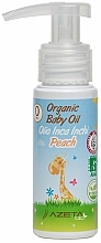 Органично масло за бебе с праскова и инка инчи - Azeta Bio Organic Baby Peach Oil Inca Inchi — снимка N2